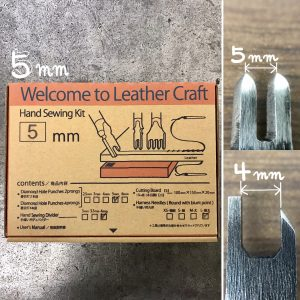 Welcome to Leather Craft (Hand Sewing kit) 5mm