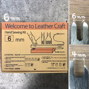 Welcome to Leather Craft (Hand Sewing kit) 6mm