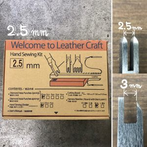Welcome to Leather Craft (Hand Sewing kit) 2.5mm