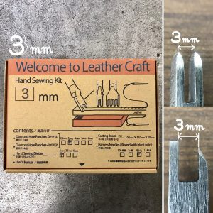 Welcome to Leather Craft (Hand Sewing kit) 3mm