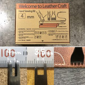 Welcome to Leather Craft (Hand Sewing kit) 4mm